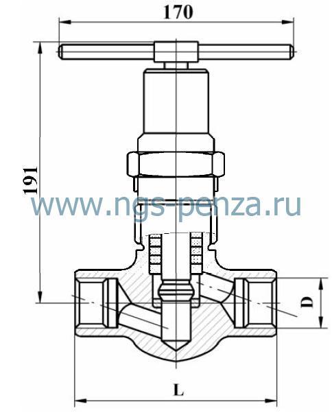 Клапан С21150-015-00