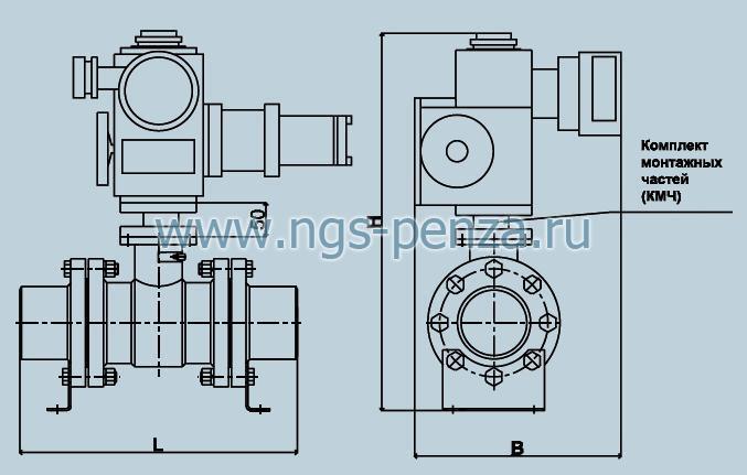Клапан АТЭК-150-ЗП