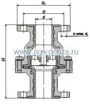 Клапан обратный КОХ 250/10.1