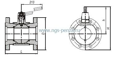 Счетчик газа СГ-16МТ-100 турбинный