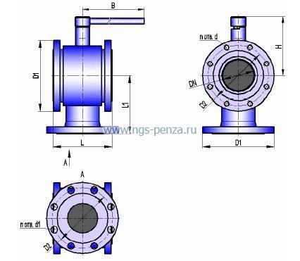 Схема крана КШТХ-2