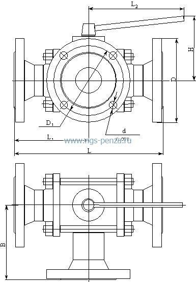 Схема крана КШТ-Р