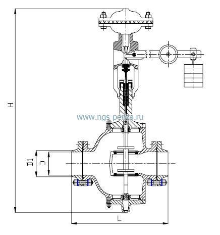 Схема регулятора давления 21с10нж.