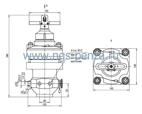 Схема регулятора УФ 63012-025К