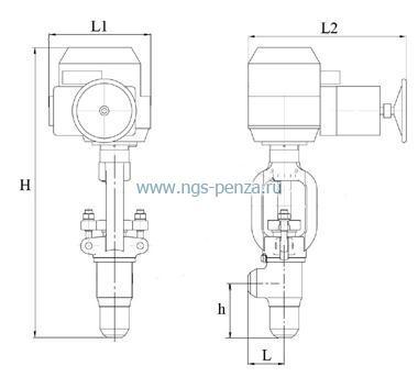 Схема клапана КДУ Схема