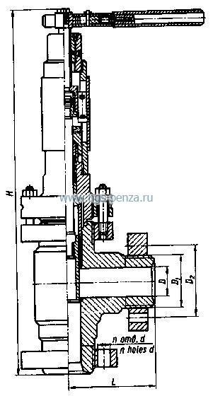 Клапан запорно-регулирующий угловой 13лс964нж.