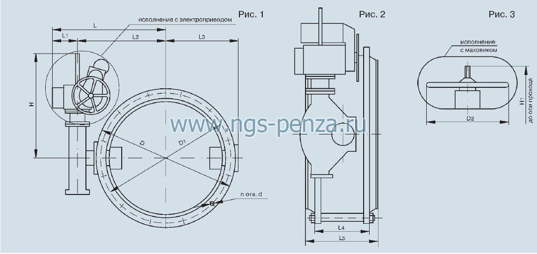 Затвор дисковый ПТ99007-600