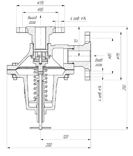 Мембрана клапана ПСК-25Н