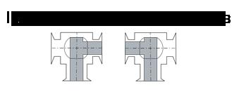 Кран трехходовой КШТ 16-125 РБХ