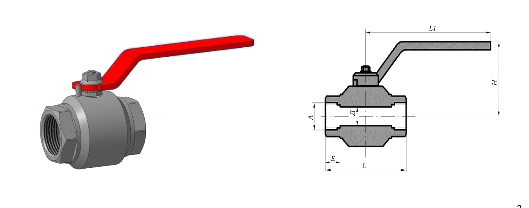 Кран шаровой КШ З АР Д.025-160.10-02Р